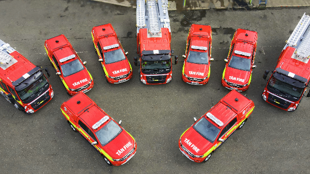 Smart Fire and Rescue Vehicles