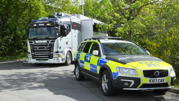 Smart Police Vehicle Northamptonshire Police